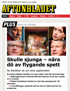 Aftonbladet Mystik 161016