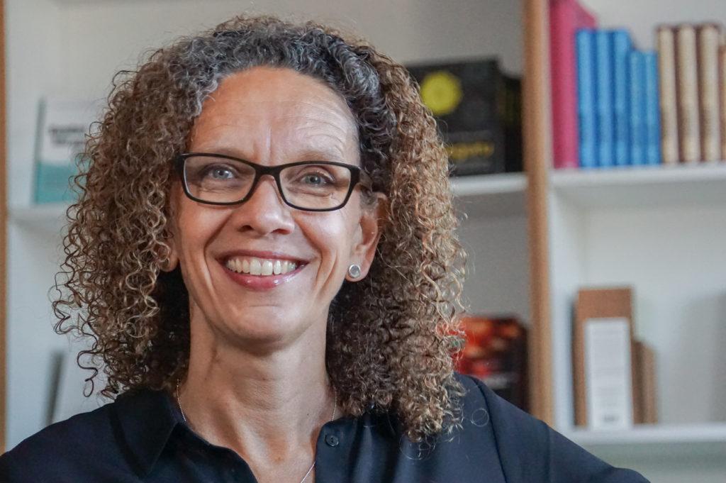 Foto Maria Ramdén - förlagschef Roos & Tegnér