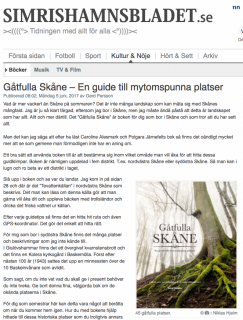 Simrishamnsbladet 170605