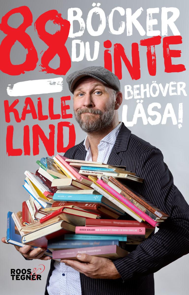 Omslag - 88 böcker du inte behöver läsa Kalle Lind