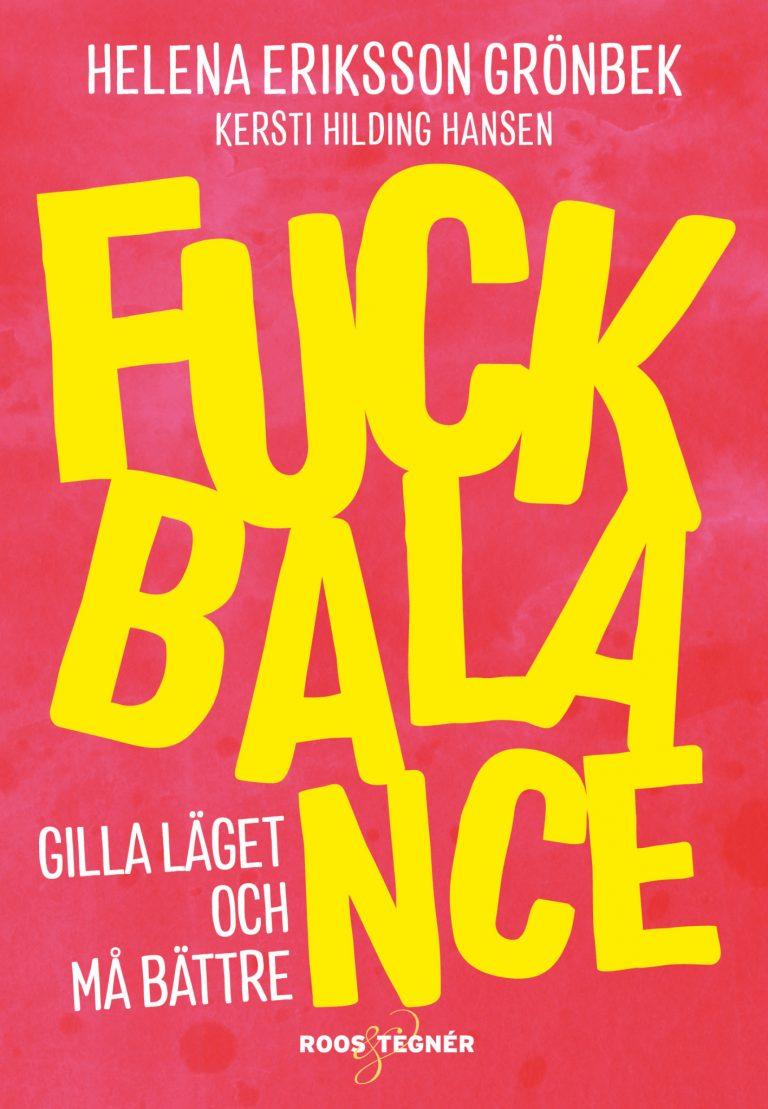 Omslag boken Fuck Balance