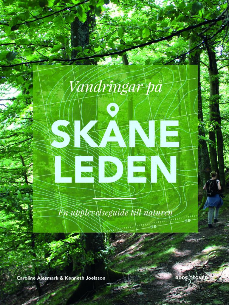 Omslag bok Vandringar på Skånelden