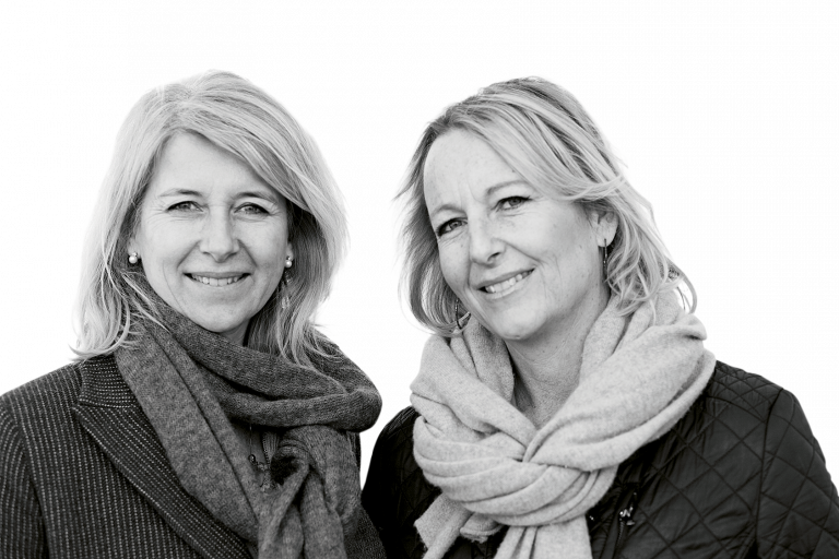 Amelie Ehrensvärd Cardell och Susanne Martinelle