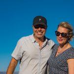 Anna och Marko på Hahn Winery