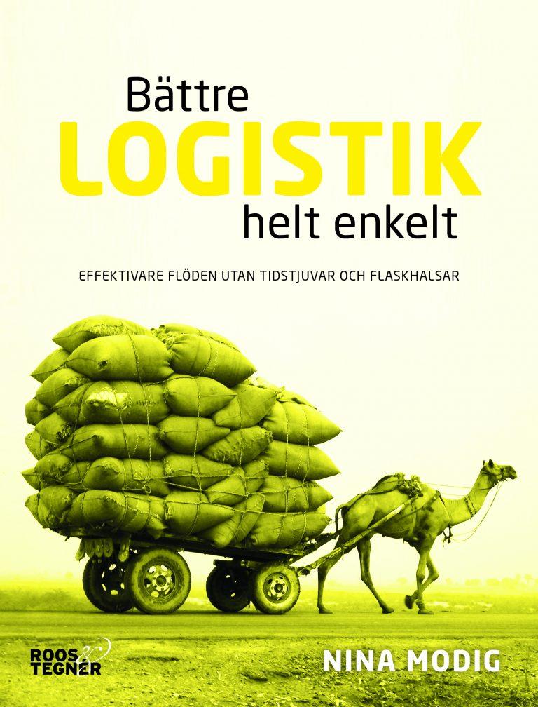 Bättre Logistik helt enkelt bokomslag Nina Modig
