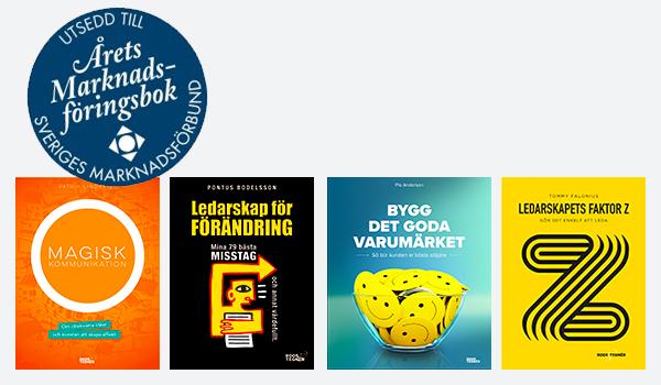 nominerade Årets marknadsföringsbok Roos & Tegnér