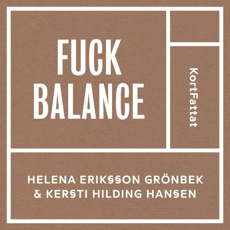 Ljudbok KortFattat Fuck Balance